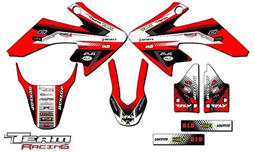 Team Racing Graphics kit for 2004-2012 Honda CRF 50 ANALOG