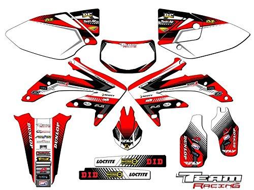 Team Racing Graphics kit for 2005-2017 Honda CRF 450X ANALOG