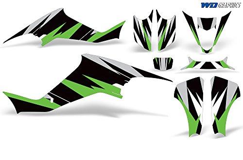 Wholesale Decals Suzuki LTZ 400 2003-2008 Custom Graphics Kit Venom Race Design