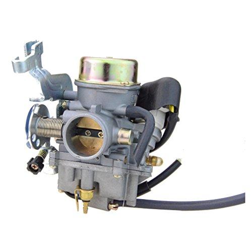 GOOFIT CVK Carburetor for Manco Talon 260cc 300cc Linhai Bighorn 260cc 300cc ATV UTV Carb
