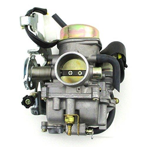 TC-Motor Carburetor For LinHai 250cc 260cc 300cc FS300 CVK ATV Quad 4 Wheeler Dirt Pit Bike Motorcycle Go Kart Buggy Motocross Carb