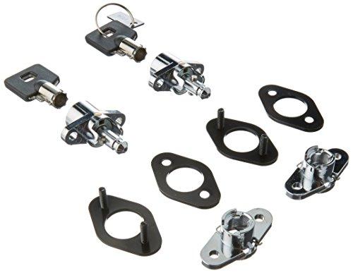 HardDrive 370035 Universal Saddlebag Lock Kit Leather Bags1 Pack