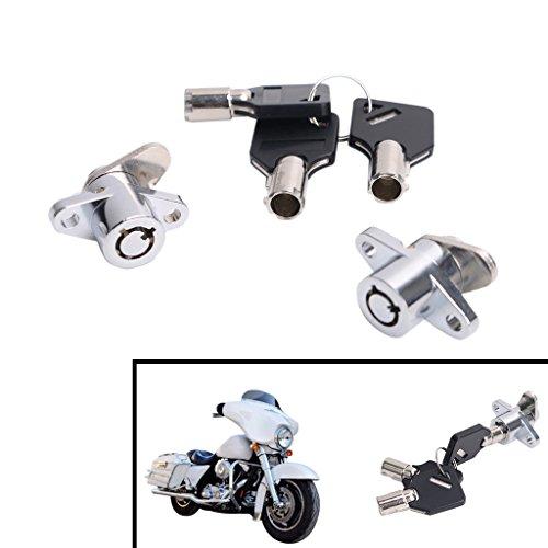 Jade 2 Keys Saddlebag Lock Set For Harley Touring Models Saddle Bag Locks Road Glide King