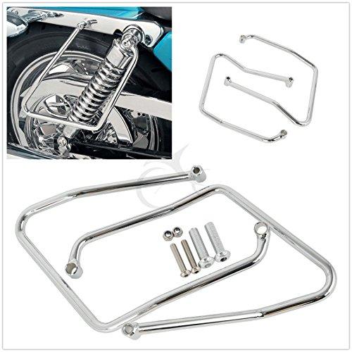 TCMT Saddlebag Support Brackets Fits For Harley Sportster XL 883 1200 2004-2014