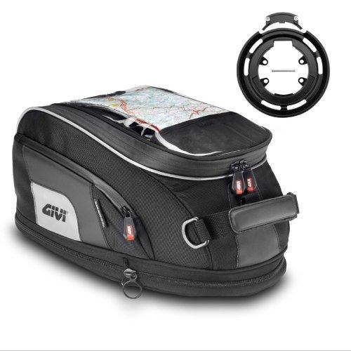 Givi tank bag set XS307  Tanklock-System ring bf05 Yamaha XJR1300 07-13
