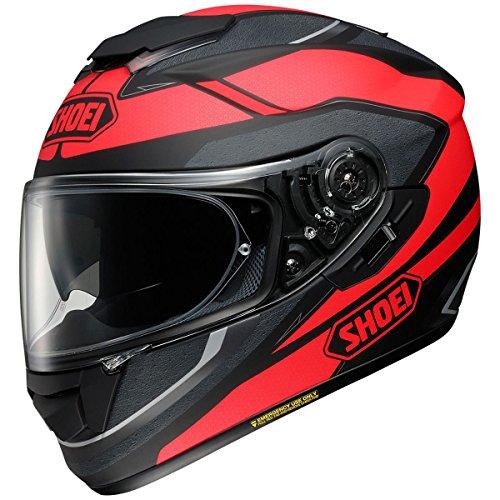 Shoei GT-Air Swayer Matte BlackRed Full Face Helmet - Large