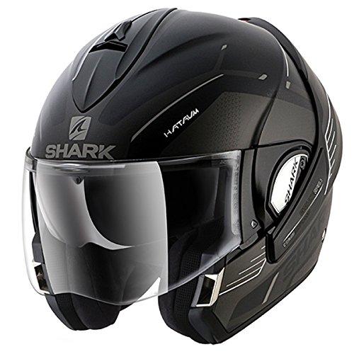 Shark Evoline Series 3 Hataum Matt Black Anthracite White Helmet M