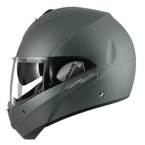 Shark Evoline Series 3 Matte Finish Helmet Silver Metal X-Small