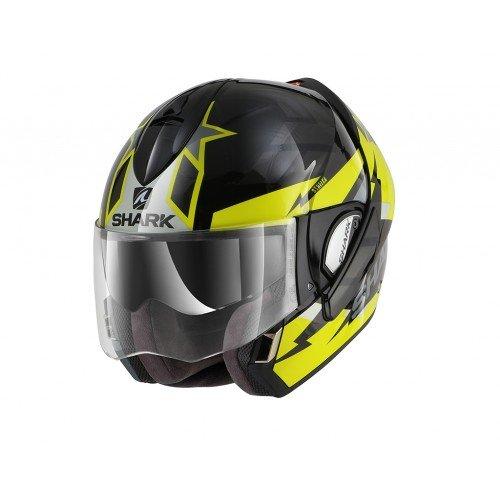 Shark Evoline Series 3 Strelka Black Yellow Helmet L