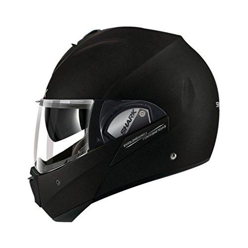Shark Evoline Series 3 Uni Matte Black Modular Motorcycle Helmet King Size XXLarge
