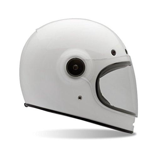 Bell Bullitt Soild Retro Full Face Helmet White MD