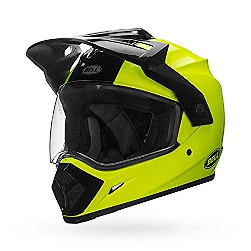 Bell MX-9 Adventure MIPS Full-Face Motorcycle Helmet Hi-Viz Yellow X-Large