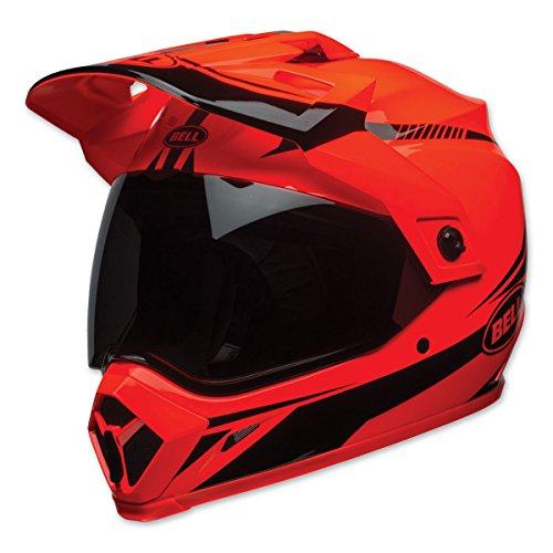 Bell MX-9 Torch Adventure MIPS Full-Face Motorcycle Helmet Gloss Hi-Viz OrangeBlack Large