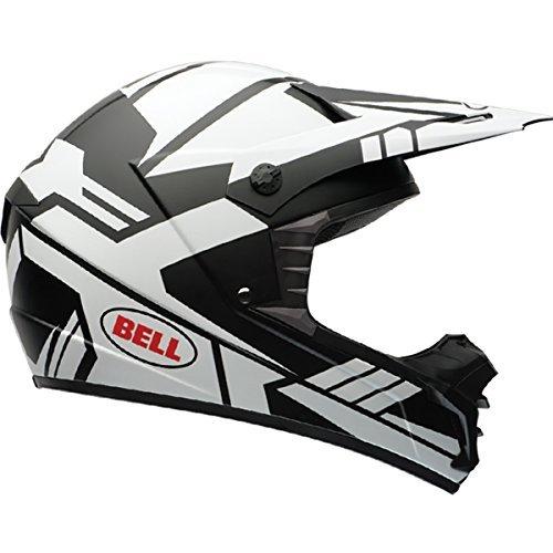 Bell SX-1 Stack Matte White Motocross Helmet - Large