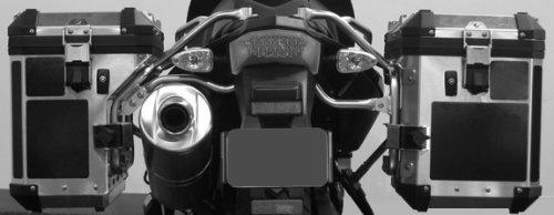 BMW F800GS Alum Adventure Saddlebag Black Reflective Tape Kit ME-RK-32B