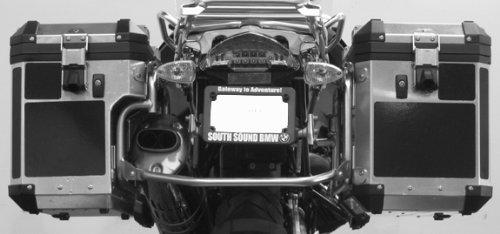 BMW R1200GS Alum Adventure Saddlebag Black Reflective Tape kit ME-RK-34B