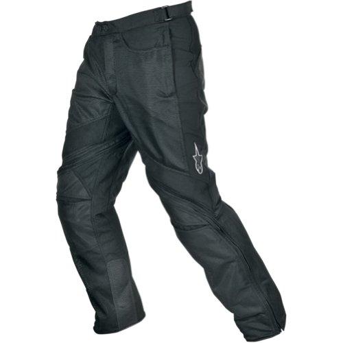 Alpinestars Air-Flo Mens Textile Street Motorcycle Pants - Black  X-Large