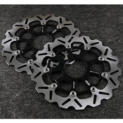 GZYF NEW Front Brake Disc Rotors Fit KAWASAKI 08-12 Ninja ZX10R GTR 1400 ZZR 1400