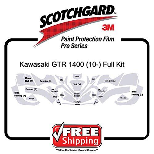 Kit for Kawasaki GTR 1400 ZG 10 up 3M 948 PRO SERIES Scotchgard Paint Protection