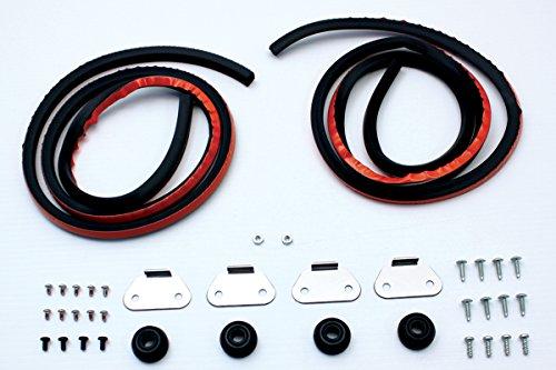 V-Twin 49-0856 - Saddlebag Hardware Kit