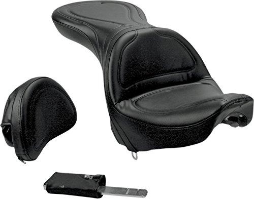 Saddlemen Explorer Seat WBackrest for Harley FLST FXST 84-99