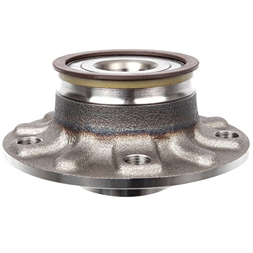 Scitoo 512336 Rear Wheel Hub Bearing Assembly fit 2007-2013 Volkswagen 5 Lugs wABS