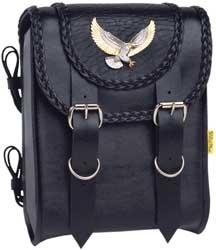 Willie Max Black Magic Sissy Bar Bag - SBB411-5