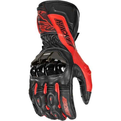 Joe Rocket Flexium Tx Men's Motorcycle Gloves (red/black, Large)
