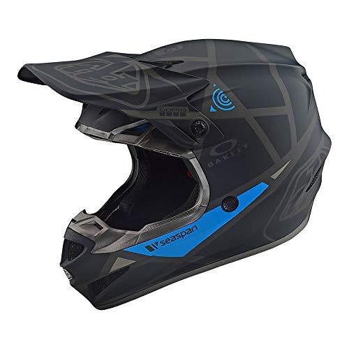 Troy Lee Designs SE4 Polyacrylite Metric Off-Road Motocross Helmet Black Small