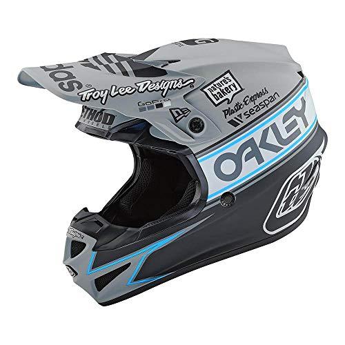 Troy Lee Designs SE4 Polyacrylite Team Edition 2 Off-Road Motocross Helmet Gray Medium