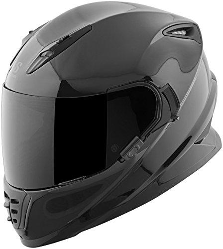 Speed Strength 871440 SS1600 Solid Speed Helmet Gloss Black Small
