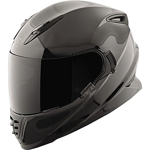 Speed Strength SS1600 Solid Speed Helmet Distinct Name Gloss Black Gender MensUnisex Helmet Category Street Helmet Type Full-face Helmets Primary Color Black Size XL 871443