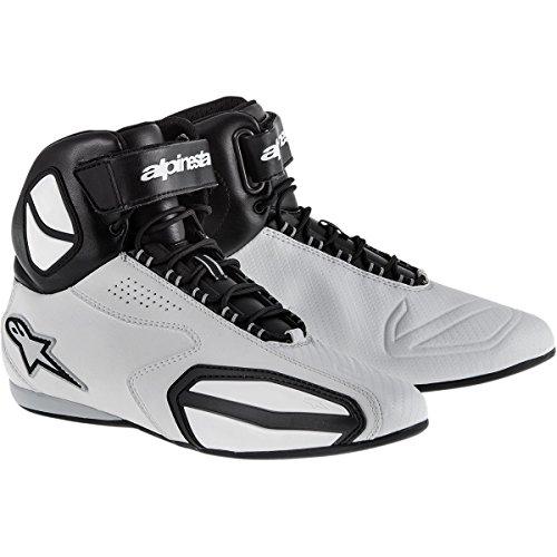 Alpinestars Faster Mens Street Motorcycle Shoes - BlackGray  10