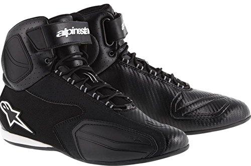 Alpinestars Faster Mens Vented Street Motorcycle Shoes - Black  115