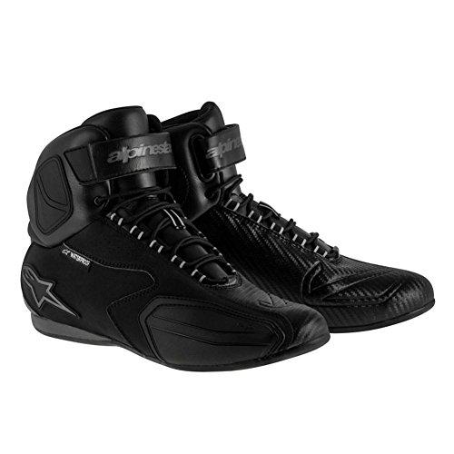 Alpinestars Faster Mens Waterproof Street Motorcycle Shoes - BlackGray  6