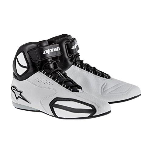 Alpinestars Faster Shoes Primary Color Gray Size 10 Distinct Name BlackGray Gender MensUnisex 2510214106-10