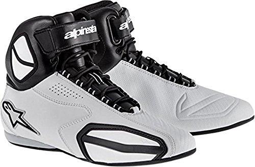 Alpinestars Faster Shoes Primary Color Gray Size 8 Distinct Name BlackGray Gender MensUnisex 2510214106-8