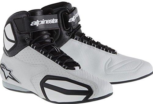 Alpinestars Faster Vented Shoes Gender MensUnisex Primary Color Gray Size 125 Distinct Name BlackGray 2510314106-125