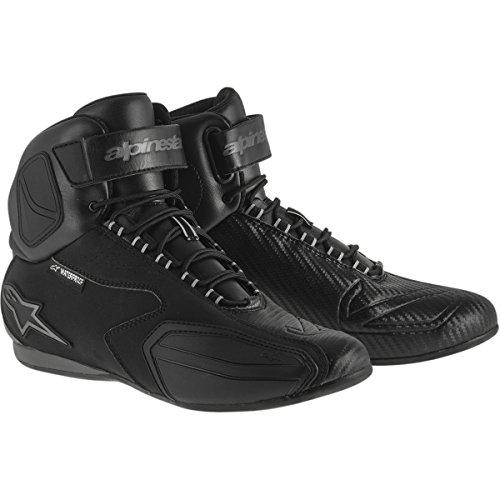 Alpinestars Faster Womens Waterproof Street Motorcycle Shoes - BlackGray  75