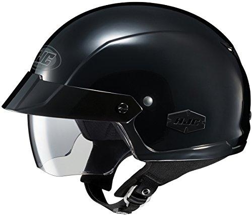 HJC IS-Cruiser Motorcycle Half-Helmet Black X-Large