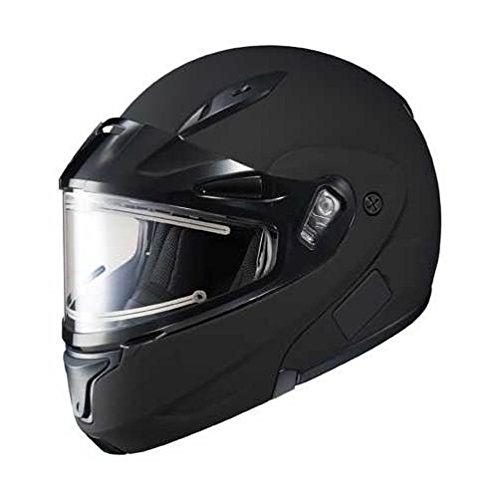 HJC CL-MAX2BTSN Modular Bluetooth Snow Helmet Framed Electric Shield Matte Black Large