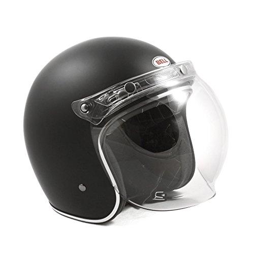 3-Snap Flip-Up Bubble Shield - Clear