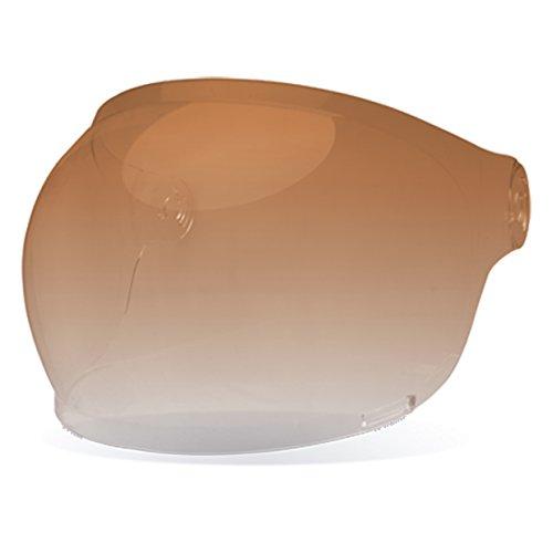 Bell Bullitt Bubble Shield - Amber Gradient - Black Tab