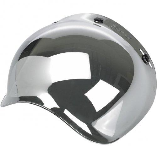 Biltwell Bubble Shield Anti Fog - Chrome Mirror
