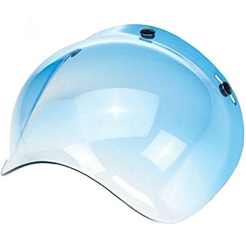 Biltwell Bubble Shield Blue Gradient Bobber Fulmer Bell Face Shield 34 Helmet