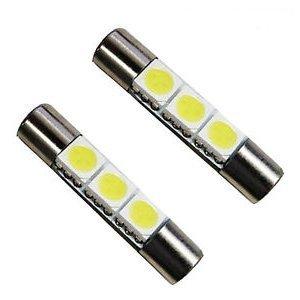 LED Vanity Mirror Sun Visor Light 31mm 6641 Pack of 2