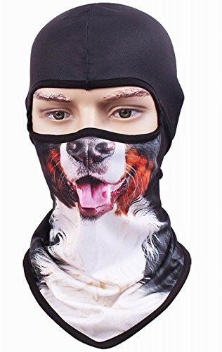 Kingree Balaclava Ski Mask Motorcycle Helmets Liner Ski Gear Neck Gaiter Animal Print Series Quick-Dry Mask