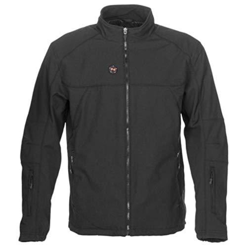 Mobile Warming Unisex-Adult Dual Power Heated 12v Jacket Black Large