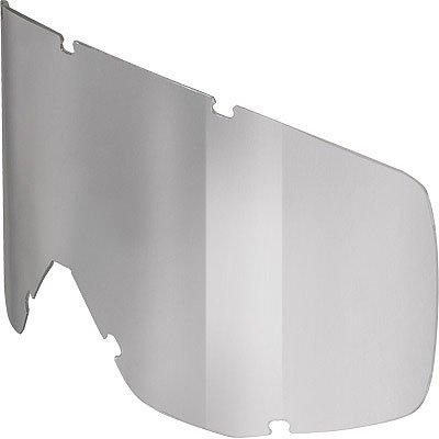 Scott HustleTyrant Series Standard Single Replacement Lens MXOff-RoadDirt Bike Motorcycle Eyewear Accessories - Silver Chrome