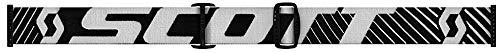 Scott Hustle X Goggle - Chrome Lens-BlackWhite